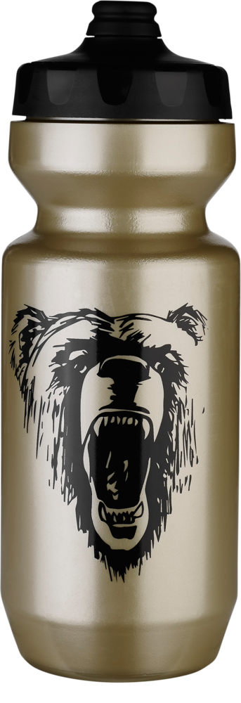 Specialized Purist Fixy Water Bottle - California Bear Gold/Black California Bear 22 OZ