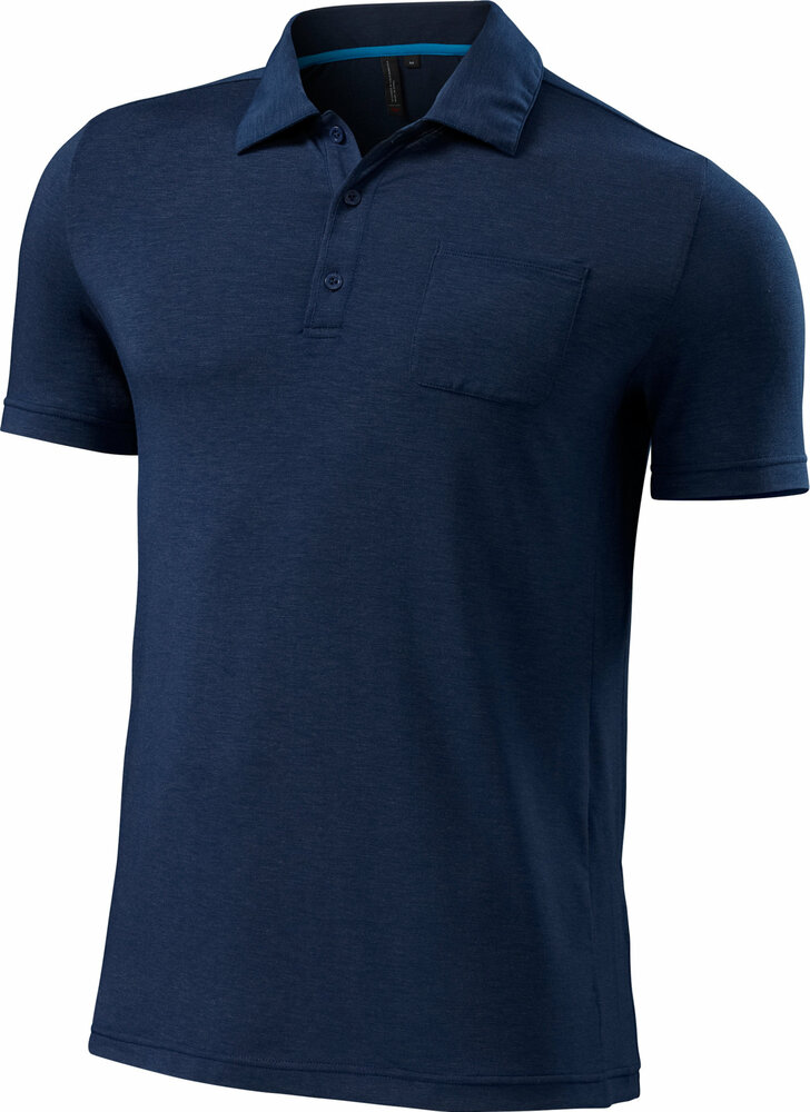 Specialized Utility Polo Navy Heather X-Large